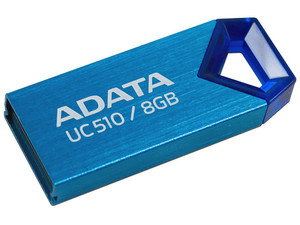 Unidad Flash USB 2.0 ADATA DashDrive Choice UC510 de 8 GB.