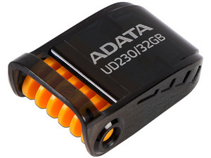 Memoria Flash USB 2.0 ADATA AUD230 de 32GB. Color Negro.
