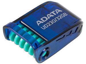 Unidad Flash USB 2.0 ADATA UD230 de 32GB. Color Azul.