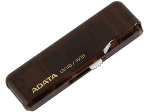 Unidad Flash USB 2.0 ADATA DashDrive UV110 de 16 GB.