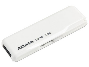 Unidad Flash USB 2.0 ADATA DashDrive UV110 de 32 GB.