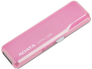 Unidad Flash USB 2.0 ADATA DashDrive UV110 de 4 GB.