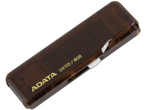 Unidad Flash USB 2.0 ADATA DashDrive UV110 de 8 GB.