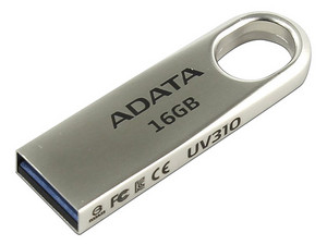 Unidad Flash USB 3.0 Adata UV310 de 16 GB.