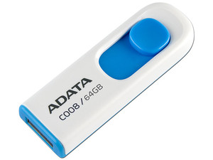 Unidad Flash USB 2.0 ADATA Dash Drive C008 de 64 GB.