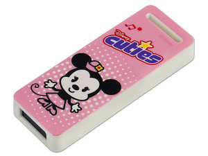 Unidad Flash USB 2.0 ADATA Disney Cuties Minnie de 8GB