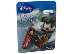 Unidad Flash USB 2.0 ADATA Disney Mickey de 4GB