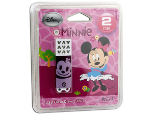 Unidad Flash USB 2.0 ADATA Disney Minnie de 2GB