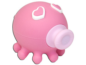 Unidad Flash USB 2.0 ADATA Kissing Octopus Rosa de 4GB
