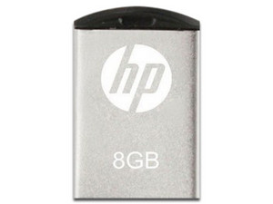 Memoria HP HPFD222W-08, 8GB. Color Plateado.