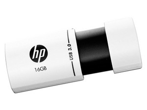 Unidad Flash USB 3.0 HP X765W de 16GB.