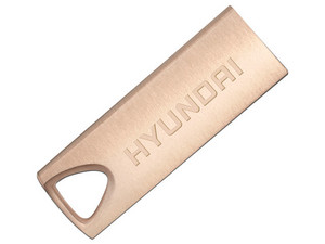 Unidad Flash USB 2.0 Hyundai de 16 GB. Color Rosa.
