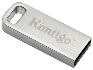 Unidad Flash USB 2.0 Kimtigo KTH-202 de 32GB. Color Plata.
