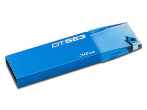 Unidad Flash USB 2.0 Kingston DataTraveler SE3 de 32GB. Color Azul.