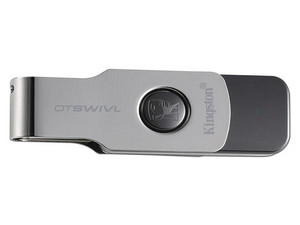 Unidad Flash USB 3.0 Kingston DataTraveler SWIVL de 64 GB.