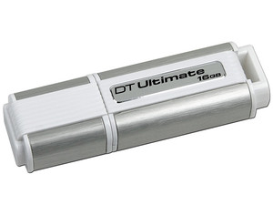 Unidad Flash USB 3.0 Kingston DataTraveler Ultimate de 16 GB.