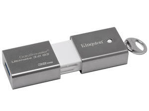 Unidad Flash USB 3.0 Kingston DataTraveler Ultimate 3.0 G3 de 32 GB.