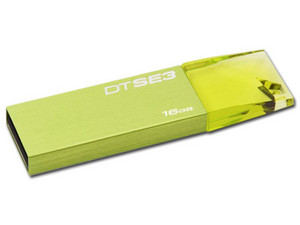 Unidad Flash USB 2.0 Kingston DataTraveler SE3 de 16GB.