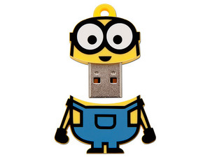 Unidad Flash USB 2.0 Kingston Minion de 8 GB.