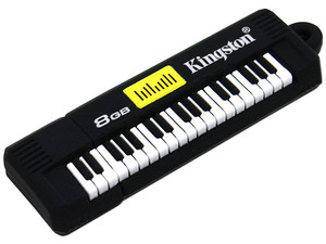 Unidad Flash USB 2.0 Kingston Data Traveler Teclado de 8 GB.