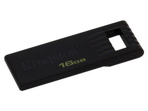 Unidad Flash USB 2.0 Kingston DataTraveler SE7 de 16 GB. Color Negro