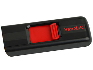 Unidad Flash USB 2.0 SanDisk Cruzer de 8GB