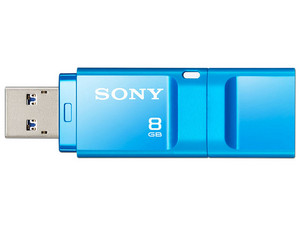 Unidad Flash USB 3.0 Sony MicroVault X de 8 GB. Color Azul.