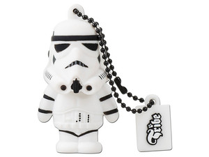 Unidad Flash USB 2.0 Tribe STAR WARS, Stormtrooper de 8 GB.
