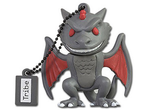 Unidad Flash USB Tribe Game of Thrones Dragón de 16GB.