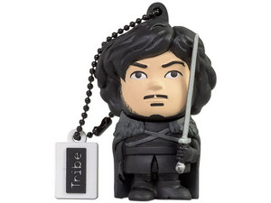 Unidad Flash USB Tribe Game of Thrones Jon Snow de 16GB.