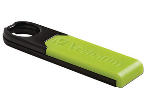 Unidad Flash USB 2.0 Verbatim Store 'n' Go Micro Plus de 8 GB.