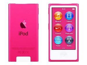 iPod nano de 16 GB, Rosa.