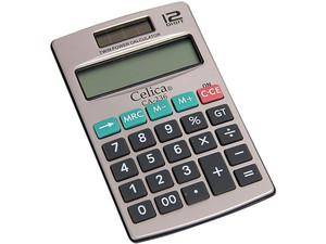 Calculadora de Bolsillo Celica 12 dígitos.