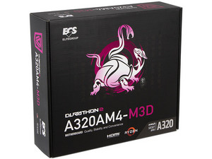 T. Madre ECS A320AM4-M3D, Chipset AMD A320,