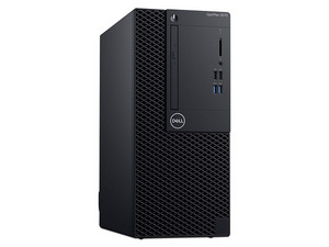 Desktop DELL Optiplex 3070 MT, Procesador Intel Core i5 9500 (Hasta 4.40 GHz), Memoria de 8GB DDR4, Disco Duro de 1TB, Video HD Graphics 630, Unidad Óptica DVD±R/RW, S.O. Windows 10 Pro (64 Bits).
