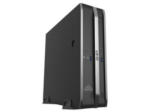 Desktop GHIA Frontier Slim SFF, Procesador Intel Pentium Gold G5400 (3.70 GHz), Memoria de 8GB DDR4, SSD de 120GB, Video UHD Graphics 610, Unidad Óptica No Incluida, S.O. Windows 10 Pro (64 Bits).