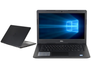 "Laptop DELL Vostro 14-3480: Procesador Intel Core i3 7020U (2.30 GHz), Memoria de 8GB DDR4, Disco Duro de 1TB, Pantalla de 14"" LED, Video HD Graphics 620, Unidad Óptica No Incluida, S.O. Windows 10 Pro (64 Bits)"