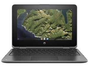 "HP Chromebook X360 G2: Procesador Intel Celeron N 4100 (hasta 2.40 GHz), Memoria de 4GB, Almacenamiento de 32GB, Pantalla de 11.6\"" LED, Video UHD Graphics 600, Unidad Óptica No Incluida, S.O. Chrome OS."