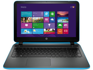 Laptop HP Pavilion 15-p201la Color Azul: