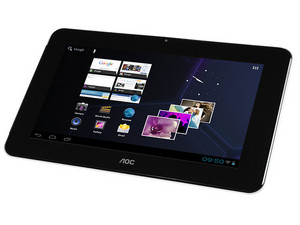 Tablet AOC Breeze MW0713 con Android 4, Wi-Fi, Cámara, Pantalla Multitouch de 7