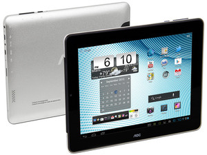 Tablet AOC Breeze MW0831 con Android 4.1, Wi-Fi, Cámara, Pantalla Multitouch IPS de 8