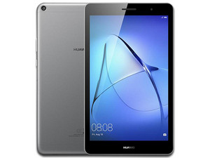 "Tablet Huawei MediaPad T3 8: Procesador Quad Core (1.4 GHz), Memoria RAM de 2GB, Almacenamiento de 16GB, Pantalla LED Multi touch de 8\"", Cámara Principal: 5MP, Frontal: 2MP, Wi-Fi, Android 7.0."