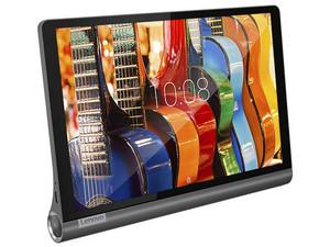 Tablet Lenovo Yoga Smart YT-X705F: Procesador Octa Core (2 GHz), Memoria RAM de 3GB, Almacenamiento de 32GB, Pantalla IPS de 10'', Red Wi-Fi 802.11 b/g/n, Bluetooth, Cámara Principal 8MP / Frontal 5MP, Android 9.0 Pie.