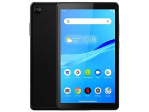 """Tablet Lenovo M7 TAB-7305F: Procesador Quad Core (1.3 GHz), Memoria RAM de 1GB, Almacenamiento de 8GB, Pantalla IPS de 7\"""", Red Wi-Fi 802.11 b/g/n, Bluetooth, Cámara Principal 2MP / Frontal 2MP, Android 9.0 Pie. Color Negro."""
