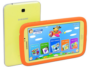 Tablet Samsung Galaxy Tab 3 Kids con Android 4.1, Wi-Fi, 2 Cámaras, Pantalla LED Multitouch de 7