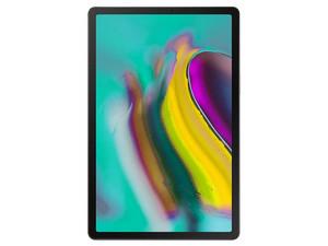 """Tablet Samsung Tab S5e: Procesador Octa Core (hasta 2.0GHz), Memoria RAM de 4GB, Almacenamienta de 64GB (expandible con microSD), Pantalla LED Multi touch de 10.5\"""" (2560x1660), Wi-Fi, Bluetooth, Android 9. Color Dorado."""