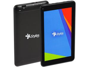 "Tablet Stylos Taris STTTA84B: Procesador Quad Core (1.3 GHz), Memoria RAM 1GB, Almacenamiento 8GB, Pantalla LED Multi Touch de 7\"", Wi-Fi 802.11b/g/n, Android 8.1 Oreo."