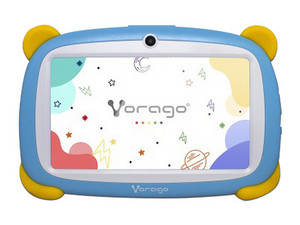 "Tablet Vorago PAD 7 Kids: Procesador Rockchip Quad Core (1.50 Ghz), Memoria RAM de 1GB, Almacenamiento de 16GB, Pantalla LED Multi-touch de 7\"", Wi-Fi 4, Bluetooth 4.2, Cámara Principal de 2MP, Android 9. Color Azul."
