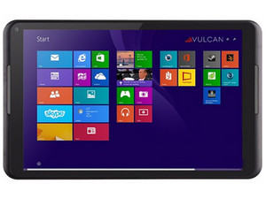 Tablet Vulcan Challenger con Procesador Intel Atom Z3735D, Windows 8.1, Wi-Fi, 2 Cámaras, Pantalla Multitouch IPS HD de 8