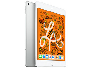 iPad Mini 5 Wi-Fi + Cellular, de 256 GB, Plata.